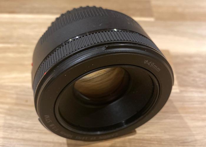 Canon 50mm f1.8 Prime Lens - 1