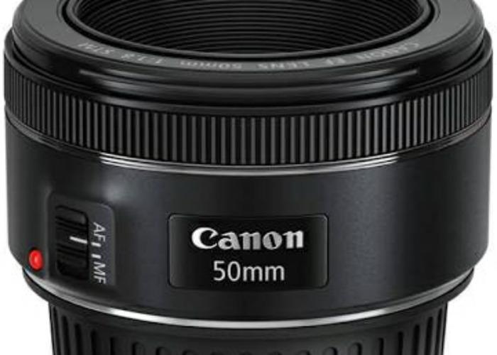 Canon 50mm f1.8 STM lens - 1
