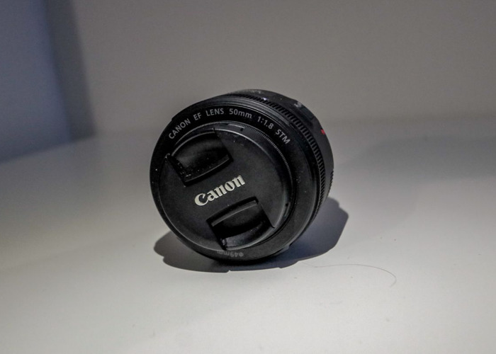 Canon 50mm f1.8 STM Prime Lens For Hire (Highbury Area) - 1