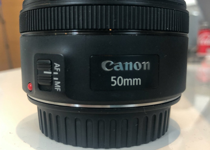 Canon 50mm Lens - 1