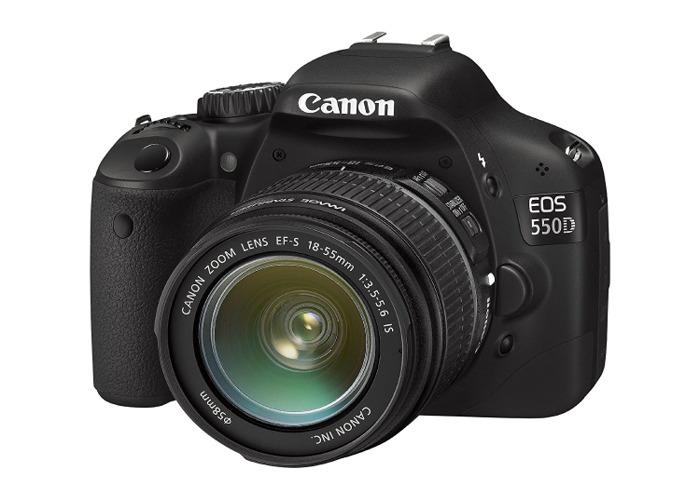 Canon 550d + lens - 1