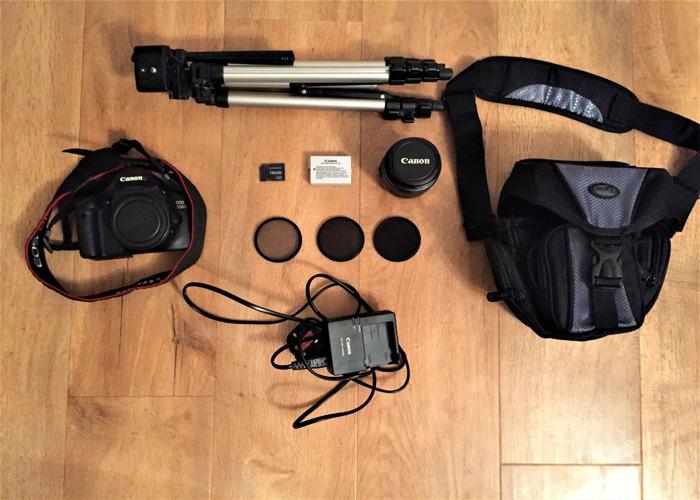 Canon 550d Camera (DSLR) - 1