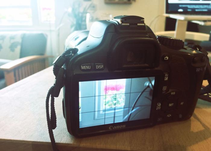 Canon 550d Dslr Camera - 1
