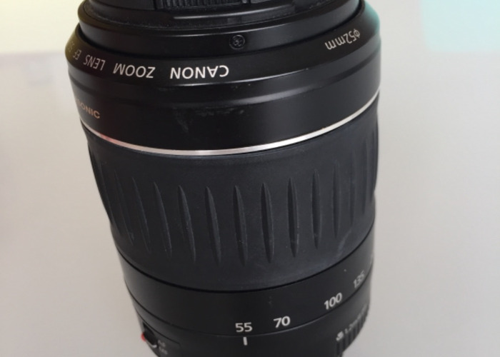 Canon 55-200mm zoom lens - 1