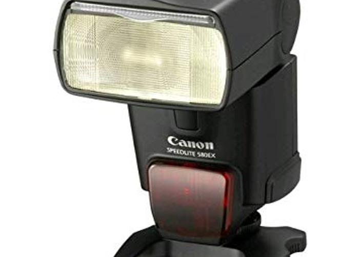 Canon 580 EX ii Speedlite - 1