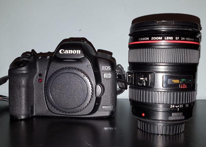 Canon 5D Mkii + Canon 24 - 105mm - 2