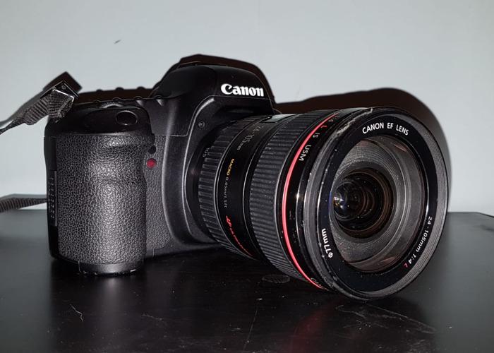 Canon 5D Mkii + Canon 24 - 105mm - 1