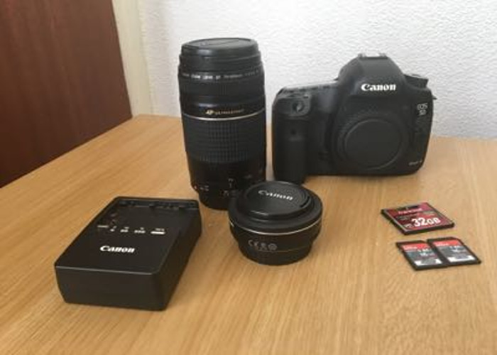 Canon 5D DSLR Available to Rent - 1