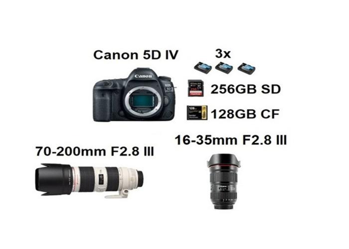 Canon 5D IV, MK 4 16-35mm 2.8 III, 70-200mm 2.8 III - 1