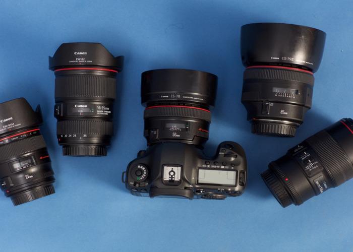 Canon 5D Kit Lens Bundle - 1