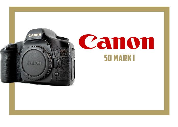 CANON 5D MARK 1 - 1