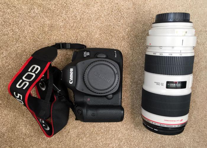 Canon 5D Mark 3 + Canon 70mm-200mm f2.8 L series - 1