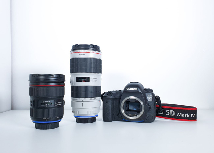 Canon 5D mark 4 + 24-70mm, 70-200mm - 1