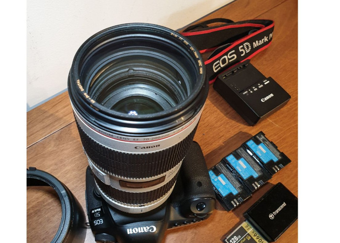 Canon 5d Mark 4 IV + Canon EF 70-200 mm F/2.8 L IS III USM Lens - 2