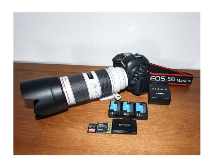 Canon 5d Mark 4 IV + Canon EF 70-200 mm F/2.8 L IS III USM Lens - 1
