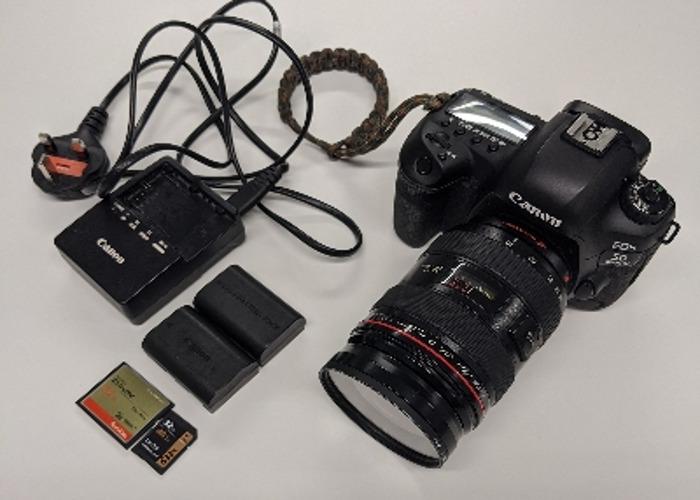 Canon 5D mark 4 IV, 24-70mm, 2 x 32 GB SD Card - 1