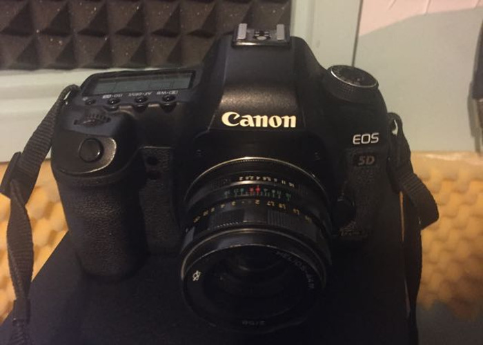 Canon 5D Mark II DSLR camera - 1