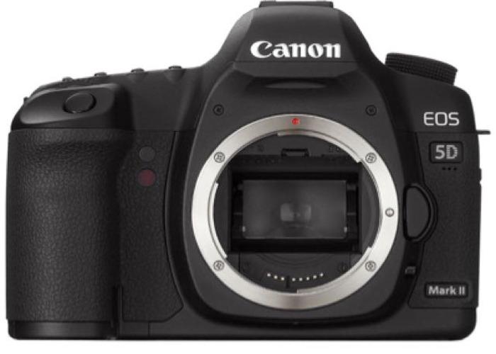 Canon 5D Mark II Full Frame 21MP Camera  - 1