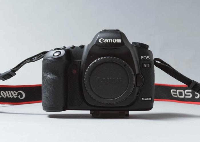 Canon 5D Mark ii Full Frame Camera Body - 2