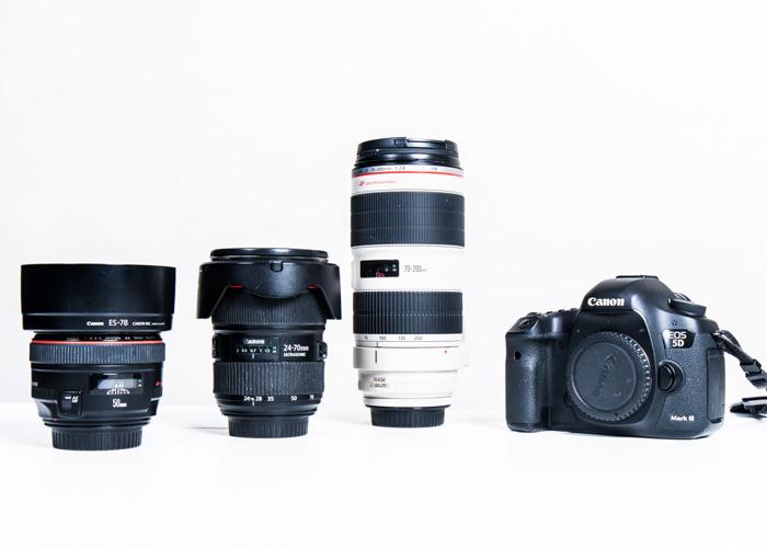 Canon 5D Mark III | 1 EF Lens - 1