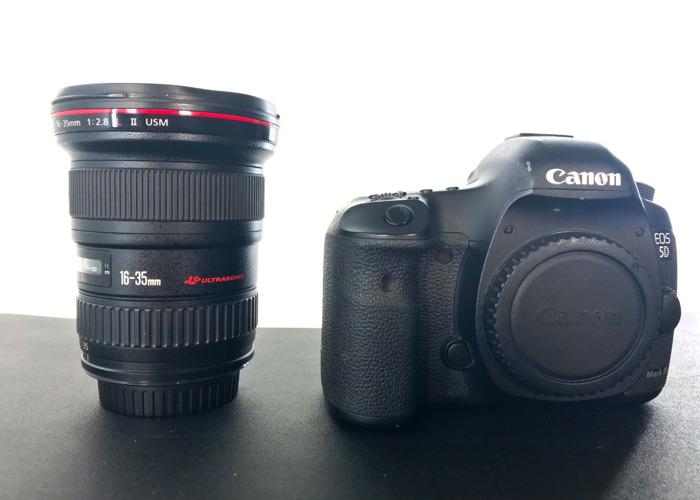 Canon 5D Mark iii & 16-35mm f/2.8L II Lens - 1