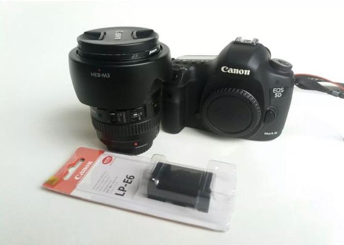 Canon 5D mark III + 24-105 f4 L + extra batery - 1