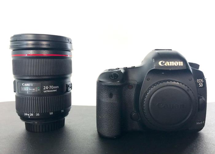 Canon 5D Mark iii & 24-70mm f/2.8L II USM Lens - 2