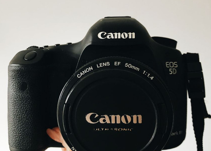 Canon 5d Mark III + 50mm f/1.4 - 2