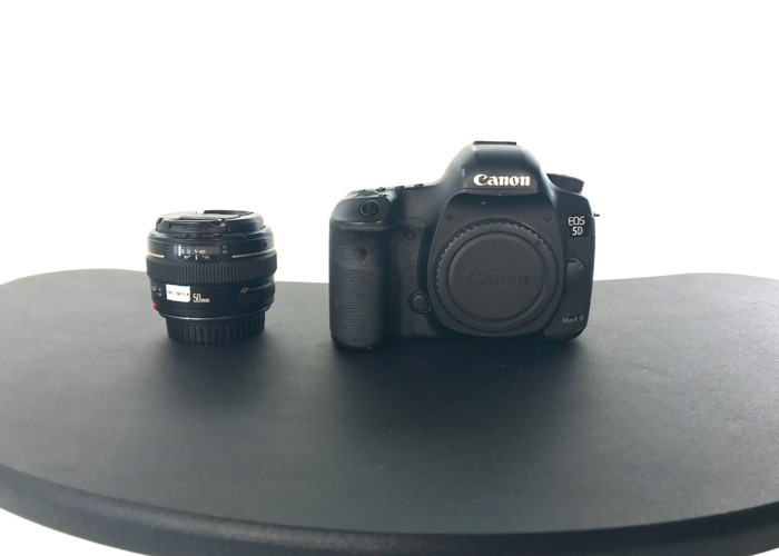 Canon 5D Mark iii & 50mm f/1.4 Lens - 1