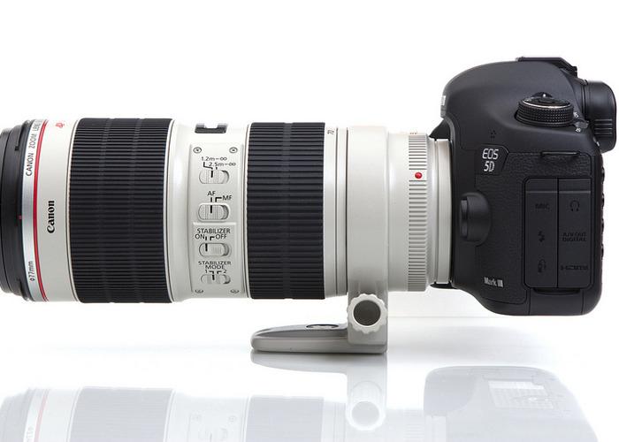 Canon 5D Mark III Camera + 70-200mm f/2.8 IS USM Lens - 1