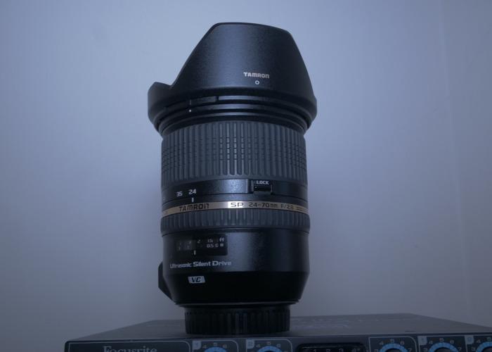 Canon 5D Mark iii + Tamron 24-70mm - 2