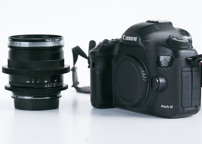 Canon 5D Mark III + Zeiss 25mm lens - 1
