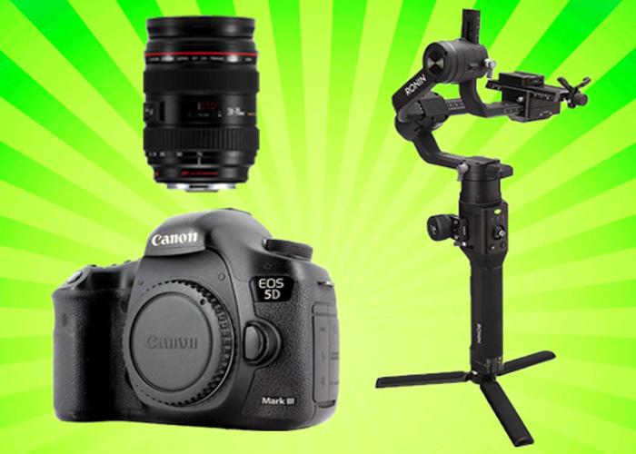 Canon 5D Mark III 3 + Ronin-S + Any Lens - 1
