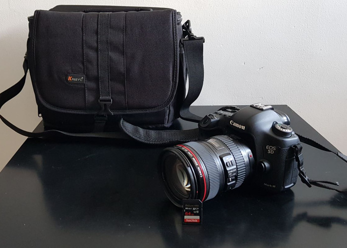 Canon 5D Mark MK III 3 and Canon 24-105mm f4 IS USM ll - 1