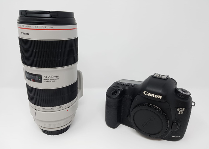 Canon 5D Mark III and Canon 70-200 mm f/2.8 L IS III USM Lens - 1