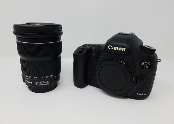 Canon 5D Mark III and Canon EF 24-105mm f/4 IS II USM Lens - 1