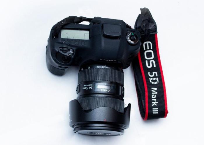 Canon 5D Mark III Camera & Canon 24-70 F2.8L II Lens Combo - 2