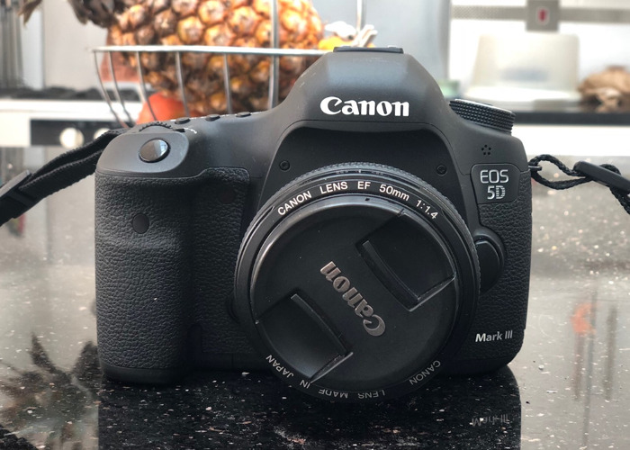 Canon 5D Mark III DSLR Camera - 1
