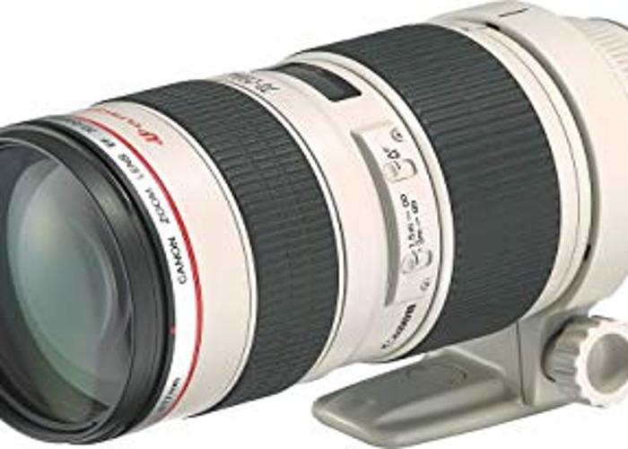 Canon 5D Mark III w Canon 70-200 mm f/2.8 L USM Lens - 2