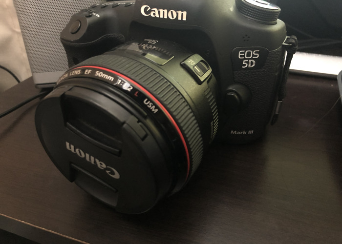 Canon 5D Mark iii (with Canon L-Series 50MM 1.2) - 1