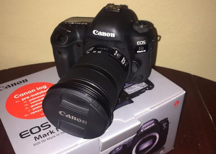 Canon EOS 5D Mark IV DSLR Camera + zoom lens - 1