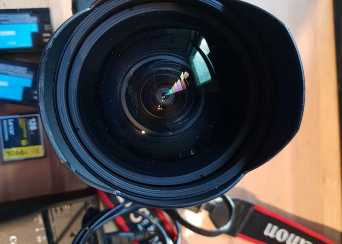 Canon 5d Mark IV + 11-24mm, USM Lens L - 2