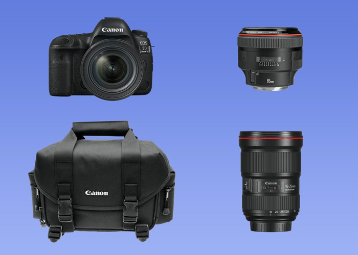 Canon 5D Mark IV + 16 35 mm + 85 mm + bag - 1