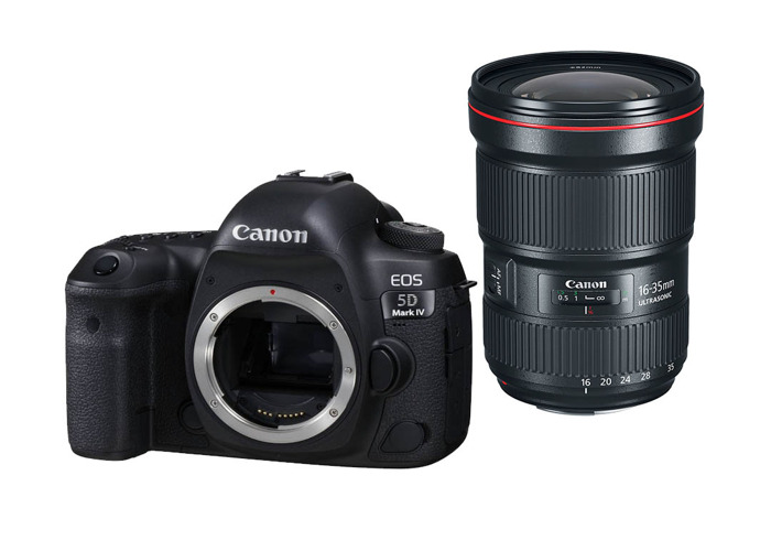 Canon 5D Mark IV + 16-35mm f/2.8 II - 1