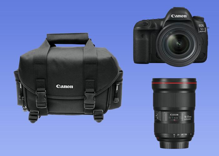 Canon 5D Mark IV + 24 70 mm + bag - 1