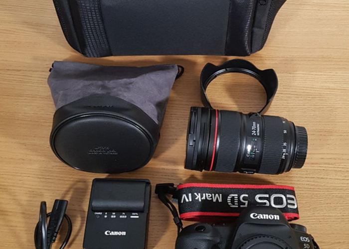 Canon 5D Mark IV + 24 70 mm + bag - 2