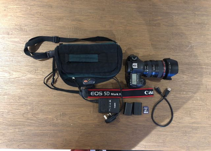 Canon 5D Mark IV + 24-105 L Lens - 1