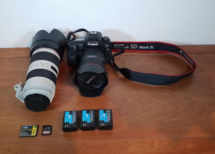 Canon 5D Mark IV + 24-105mm f/4L IS II, 70-200 mm III F/2.8 L IS - 2
