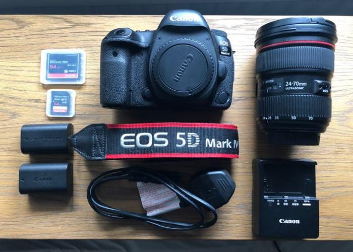 Canon 5d mark IV & 24-70mm f2.8 Lens - 1