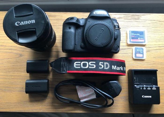 Canon 5d mark IV & 24-70mm f2.8 Lens - 2